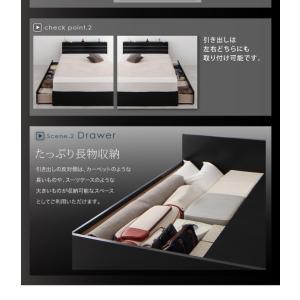 シングルベッド 照明・コンセント付き収納ベッド ボンネルコイルマットレス付き(レギュラー) シングル happyrepo 11