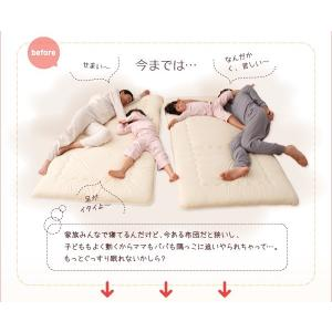 親子で寝られる棚・照明付き連結ベッド セミシングル フレームのみ|happyrepo|05