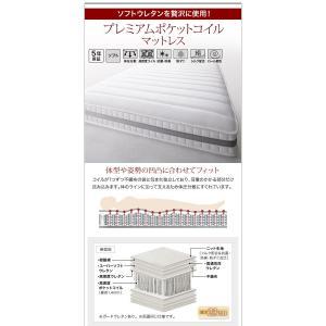 収納ベッド ダブル マットレス付き プレミアムポケットコイル 棚・コンセント付きベッド 床板仕様|happyrepo|19
