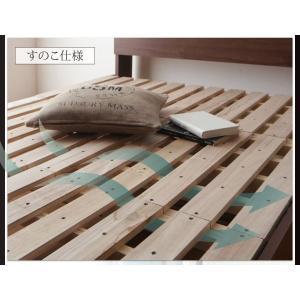収納ベッド ダブル マットレス付き プレミアムポケットコイル 棚・コンセント付きベッド 床板仕様|happyrepo|06