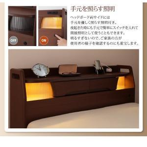 介護ベッド 棚・照明・コンセント付き電動ベッド フレームのみ 1モーター|happyrepo|13