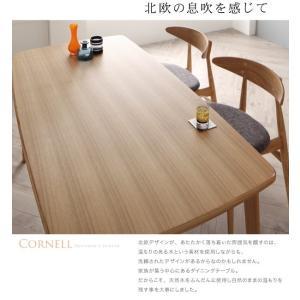 ダイニングテーブルセット 4人掛け おしゃれ 4点セット(テーブル150+チェア2脚+ベンチ) 北欧|happyrepo|12
