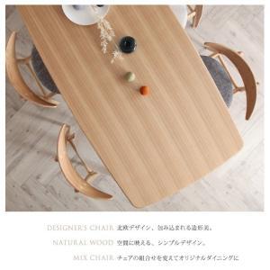 ダイニングテーブルセット 4人掛け おしゃれ 4点セット(テーブル150+チェア2脚+ベンチ) 北欧|happyrepo|04