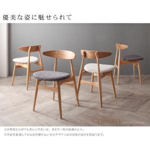 ダイニングテーブルセット 4人掛け おしゃれ 4点セット(テーブル150+チェア2脚+ベンチ) 北欧|happyrepo|06