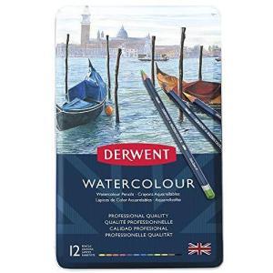 ダーウェント 水彩 色鉛筆 ウォーターカラーペンシル 12色セット 32881|happysmile777