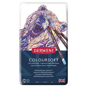ダーウェント 色鉛筆 カラーソフト 12色セット 0701026|happysmile777