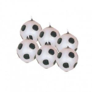 Amscan International Mini成型サッカーボールキャンドル、6個のパック|happysmile777