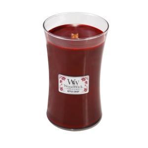 WoodWick Candle アップルクリスプラージジャー|happysmile777