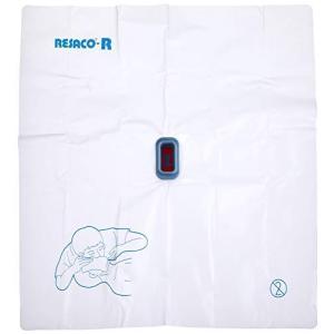 レサコ 人工呼吸用マウスシート レサコRG(ポリ手袋付) 8-8512-02 happysmile777