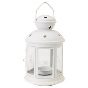 IKEA(イケア) ROTERA 90143189 ティーライト用ランタン ホワイト|happysmile777