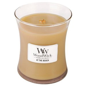 WOODWICK SCENTED CANDLE 300ml AT THE BEACH 92250|happysmile777