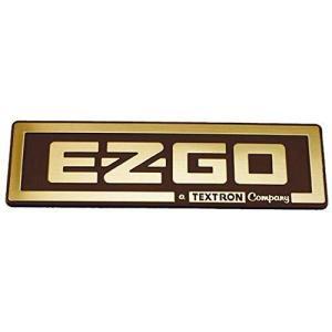EZGO 71037G02ゴールドネームプレートA Textron Company|happysmile777