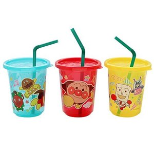 レック アンパンマン ストローカップ 3個入 (3色別柄) happysmile777