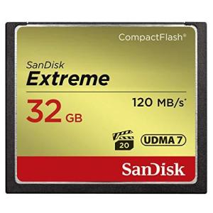 SANDISK ( サンディスク ) 32GB Compact Flash Memory ( 読取速度 最大 120MB 秒 / 書込速度 最大 85|happysmile777
