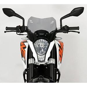 MRA / エムアールエー スポイラーウインドシールド S −スモーク− for KTM DUKE 125 / 200 / 390   4025066 happysmile777