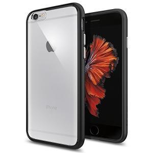 【Spigen】iPhone6S ケース / iPhone6 ケース ウルトラ・ハイブリッド 米軍MIL規格取得 (ブラック SGP11600) happysmile777