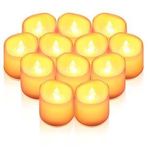 AMIR LED キャンドルライト LEDキャンドル ろうそく 癒しの灯り 揺らぐ炎 リアル感 火を使わない 安全 省エネ 長持ち 便利 おしゃれ ク|happysmile777