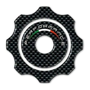 3D STICKER TANK CAP compatible for MOTORCYCLE DUCATI HYPERMOTARD HYPERSTRAD happysmile777