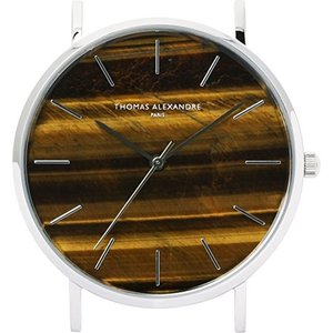[Thomas Alexandre]パワーストーン腕時計 天然石 ミニマル デザイン 日本製シチズン メンズ レディース時計 (タイガーアイ) happysmile777