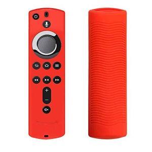 For Fire Stick 4K / Fire TV(第3世代)アンチスリップ耐震性リモコンカバー用シリコンリモートカバーケースグロー|happysmile777
