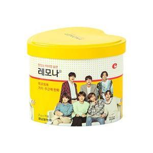 BTS LEMONA ハート缶(70包)防弾少年団 レモナビタミン パッケージランダム [並行輸入品] happysmile777