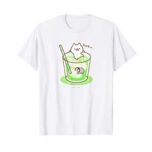 ねこぺん日和 メロンソーダ Tシャツ happysmile777