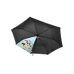 【 BTS 公式 グッズ 】 折りたたみ傘 韓国 Tiny TAN 傘 ワンタッチ 軽量 レディース メンズ こども用 カバー ケース 付き 「 自動 happysmile777