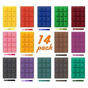 大豆ワックスキャンドル染料、14の人気のある色のキャンドル染料、バルクキャンドルの製造に使用、2.2オンスの大豆ワックス染料、100ポンドのキャンドル|happysmile777