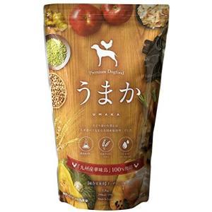 国産 ドッグフード うまか チキン 華味鳥 ヒューマングレード 1.5kg 小麦グルテンフリー 総合栄養食 全犬種 全年齢 UMAKA happysmile777