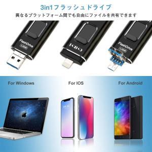 OYIKYI usbメモリ フラッシュドライブ フラッシュメモリ  容量不足解消 パスワード保護  日本語取扱説明書付き(32GB ブラック)|happysmiles