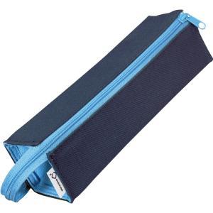 コクヨ ペンケース 筆箱 ペン立て C2 ネイビー×ブルー F-VBF122-1|happysmiles