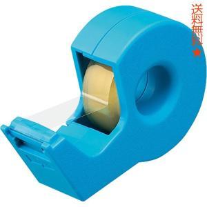 コクヨ テープカッター カルカット ハンディタイプ 小巻き ライトブルー T-SM300LB|happysmiles