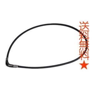 【羽生結弦選手 愛用商品】ファイテン(phiten) ネックレス RAKUWA ネックX100 (チョッパーモデル) ブラック 50cm|happysmiles