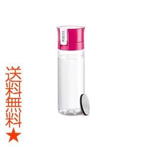 ブリタ 水筒 直飲み 600ml 携帯用 浄水器 ボトル カートリッジ 1個付き フィル&ゴー ピンク 【日本仕様・日本正規品】|happysmiles