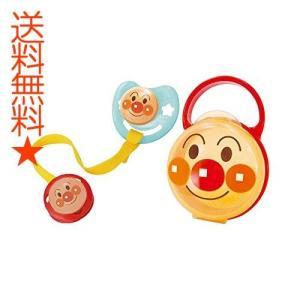 レック AN おしゃぶりセット ( アンパンマン )  M  (月齢 3~6ヶ月)|happysmiles