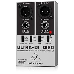 ベリンガー ダイレクトボックス 2ch ULTRA-DI DI20|happystorefujioka