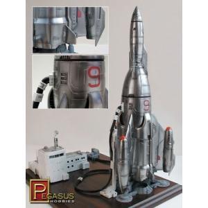ペガサスホビー 1/350 マーキュリー9 ロケット|happystorefujioka