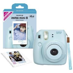 FUJIFILM インスタントカメラ チェキ instax mini 8 ブルー INS MINI 8 BLU|happystorefujioka