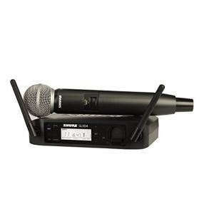 SHURE ワイヤレスシステム GLX-Dシリーズ ハンドヘルド型送信機 GLXD24J/SM|happystorefujioka