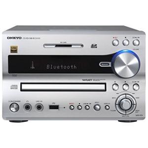 ONKYO NFR-9TX CD/SD/USBレシーバー Bluetooth/ハイレゾ対応 シルバー NFR-|happystorefujioka
