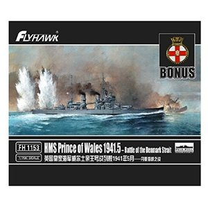 フライホークモデル 1/700 イギリス海軍 戦艦 プリンスオブウェールズ 1941 happystorefujioka