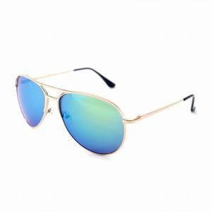 FILO アバター サングラス 偏光レンズ 収納バッグ付き Avatar Sunglasses with Bag (金, 青)|happyt-bagshop