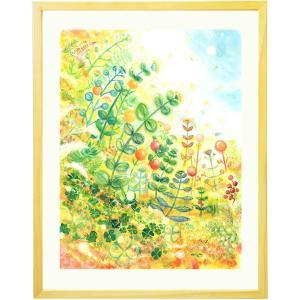 新築祝い プレゼント 絵画アート(grow/名前入れ-Lサイ...