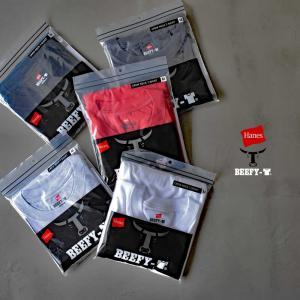 HANES ビーフィーTシャツ 20SS BEEFY-T ヘインズ(H5180)  レディース メン...