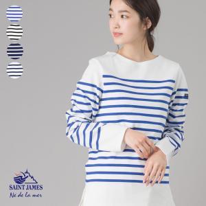レディース Tシャツ カットソー  【SAINT JAMES】セントジェームス NAVAL【2691...