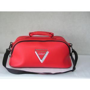 CARO(キャロ)ボストンバッグ ニューボクサー赤定価23000円。|harada-golf