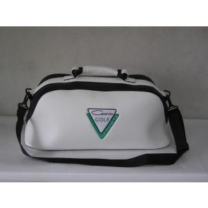 CARO(キャロ)ボストンバッグ ニューボクサー白定価23000円。|harada-golf