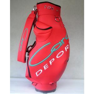 CARO(キャロ)キャディバッグニューボクサーUSA赤定価73440円(税込み)。|harada-golf