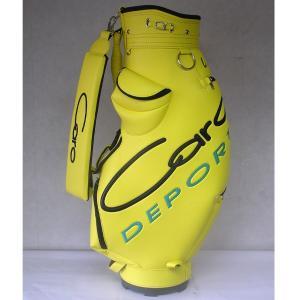 CARO(キャロ)キャディバッグニューボクサーUSA黄定価73440円(税込み)。|harada-golf