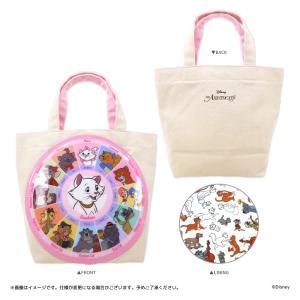 Disney(ディズニー) キデイランド オリジナル相関図シリーズ トートバッグ(おしゃれキャット) harajuku-kiddyland